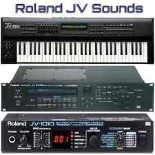 Roland JV-80 JV-880 JV-1000 JV-1010 JV-1080 JV-2080 - Largest Sound Collection