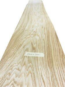 """Oak veneer - 2300mm x 300mm /  90.5"""" x 11.8""""     Natural Wood Veneer"""