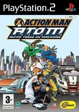 ACTION MAN    :   ATOM  ALPHA TEENS ON MACHINES       -----   pour PS2