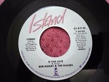 "Bob Marley & The Wailers ""Is This Love / Blackman Redemption""1983 island 7-99740"
