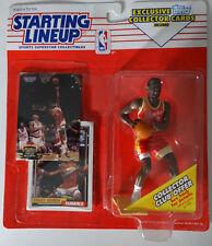 1993 Starting Lineup Stacey Augmon Atlanta Hawks Kenner Basketball Figure