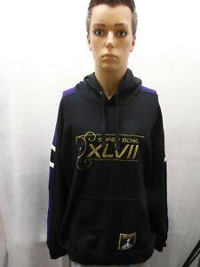 Super Bowl XLVII Hoodie Sweatshirt NFL New Orleans Baltimore Ravens