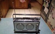 RETRO SANYO TETRASOUND 12 TRANSISTOR 4 BAND TWIN SPEAKER RADIO