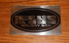 The Flys Holiday Man Sticker Oval Promo Mirrored 5.5x3.5 Grunge RARE