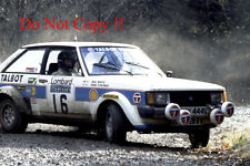 Henri Toivonen Talbot Sunbeam Lotus Winner RAC Rally 1980 Photograph