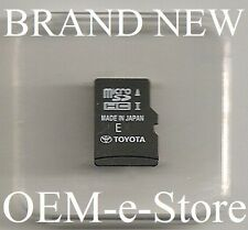 2013 2014 2015 Toyota Camry Tacoma Navigation Micro SD HC Card U.S Canada Map