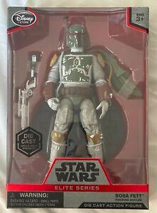 Disney Store Star Wars Elite Series Boba Fett Cape Die Cast Figure  Mandalorian