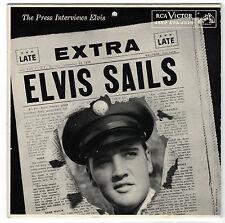 Elvis Sails-EPA 4325 Interview E.P.-Calender Back 1958