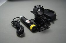 660nm 200mW Red Line Laser/Built by Cylindrical Lens for 3D Scan with Tripod&PSU