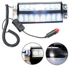 HQRP White LED Emergency Vehicle Truck Car Warning Flash Deck Dash Strobe Light