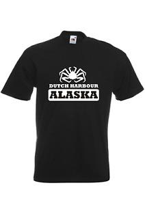 Deadliest Catch TV inspired mens t-shirt - Dutch Harbour Alaska
