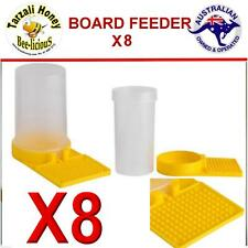 BEE FEEDER ENTRANCE/ BOARD FEEDER WATER OR SYRUP BUILD UP YOUR HIVE X 8