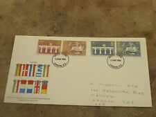 1984 GB First Day Cover / FDC -- 2nd European Elections
