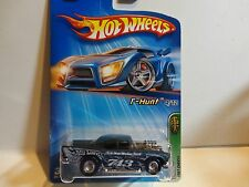 2005 Hot Wheels Treasure Hunt #124 Black '57 Chevy Bel Air w/Real Riders