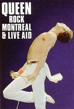 Queen - Freddie Mercury - ROCK MONTREAL & LIVE AID [2 Shows] Blu-ray DVD- Sealed
