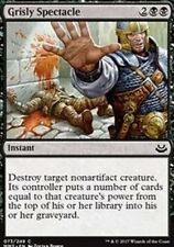 Grisly Spectacle NM X4 Modern Masters 2017 Black Common MTG