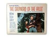 """The Shepherd Of The Hills"" Original 11x14 Authentic Lobby Card Poster 1955"