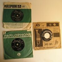 Beatles lot 3 sngles 45 Parlophone UK-Italy