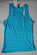 Women's H&M blouse top blue color  size 12  BNWT