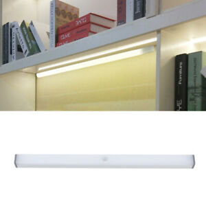 2Pz LUCE NOTTURNA LED RICARICABILE USB SENSORE MOVIMENTO PIR  Per Cucina Armadio