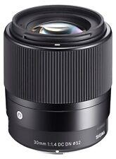 Sigma 1,4 / 30 mm DC DN  Objektiv für SONY E-Mount Neuware vom Fachhändler