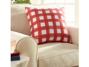 "Lot of 2, Americana Pillow 24"" x 24"" Decorative Patriotic Throw Pillow, Assorted"
