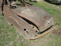 RARE 1939 MERCURY COUPE CONVERTIBLE REAR QUARTER STAINLESS MOLDINGS LH RH 39 40