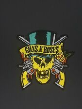 """F//gl-10c Benda stampato //Iron /""""on patch Traliccio Guns N/' Roses/"""" Back // Patch"""