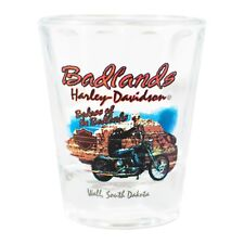 Badlands Harley-Davidson® Badass of the Badlands Short Shot Glass