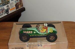 Sss Tin Friction Mars Race Car #8