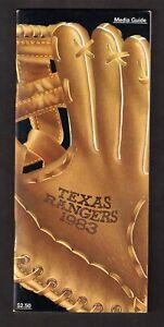 1983 TEXAS RANGERS  MEDIA PRESS GUIDE  EX-MINT