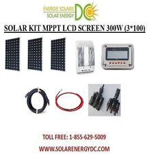 Solar Panel KIT Panneau Solaire 300W 300 W Watt (3 * 100 W) MPPT mono 12V RV VR