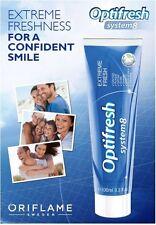 Oriflame Optifresh System 8 Crystal White Toothpaste - 100ml