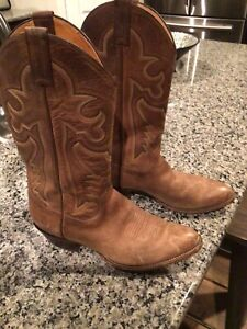 Panhandle Slim 54986 Brown Leather Western Boots Size 8.5
