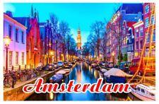 Amsterdam Souvenir Holland Kühlschrank Magnet Fotomagnet Geschenk Ideen Deko