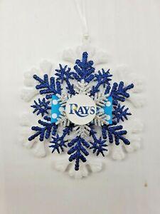Tampa Bay Rays Ornament MLB Baseball Souvenir Devil Rays Christmas Ornament