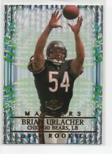Brian Urlacher 2000 Collector's Edge Masters Rookie RC Card # 208 Chicago Bears