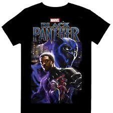 Marvel Comics Black Panther Montage Official Licensed T-Shirt