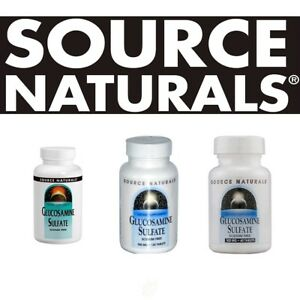 Source Naturals GLUCOSAMINE SULFATE all sizes - select option