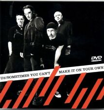 U2 Sometimes you can't make it on your own 4 TRACK DVD / CD  NEW - NOT SEALED