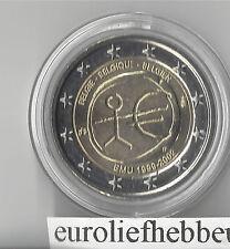 België        2 Euro 2009   EMU  10 Jaar Euro    OP VOORRAAD / IN STOCK