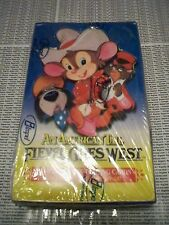 AN AMERICAN TAIL Fievel Goes West Trading Card Box 36 Packs x 12 Cards per Pack