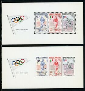 Dominican Republic note after Scott #C99 MNH S/S OLYMPICS Melbourne CV$15+ TH-1