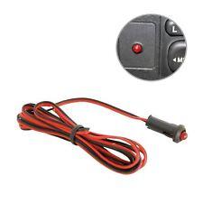 Red LED Flashing Dummy Alarm Warning Security Light 12v Car Dashboard Deterrent