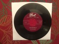 To Be Alone/Love Walked In/The Hilltoppers/45RPM/Dot Records-1953