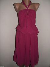 NEXT Polyester Sleeveless Women's Halter Neck Dresses