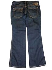 Diesel RYOTH Dark Wash Wide Leg size 31 Women's Denim Jeans Pants