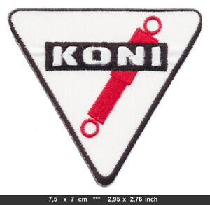 KONI Patch Embroidered Sew Iron Cars Racing Manufacturer Shocks Suspension v1