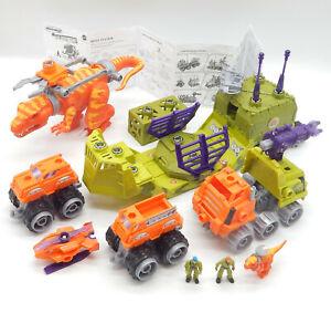 Mattel 2005 - Matchbox Mega Rigs - Dino Adventure Set