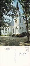 1976 THE BAPTIST CHURCH PLAINS GEORGIA  UNITED STATES UNUSED COLOUR POSTCARD